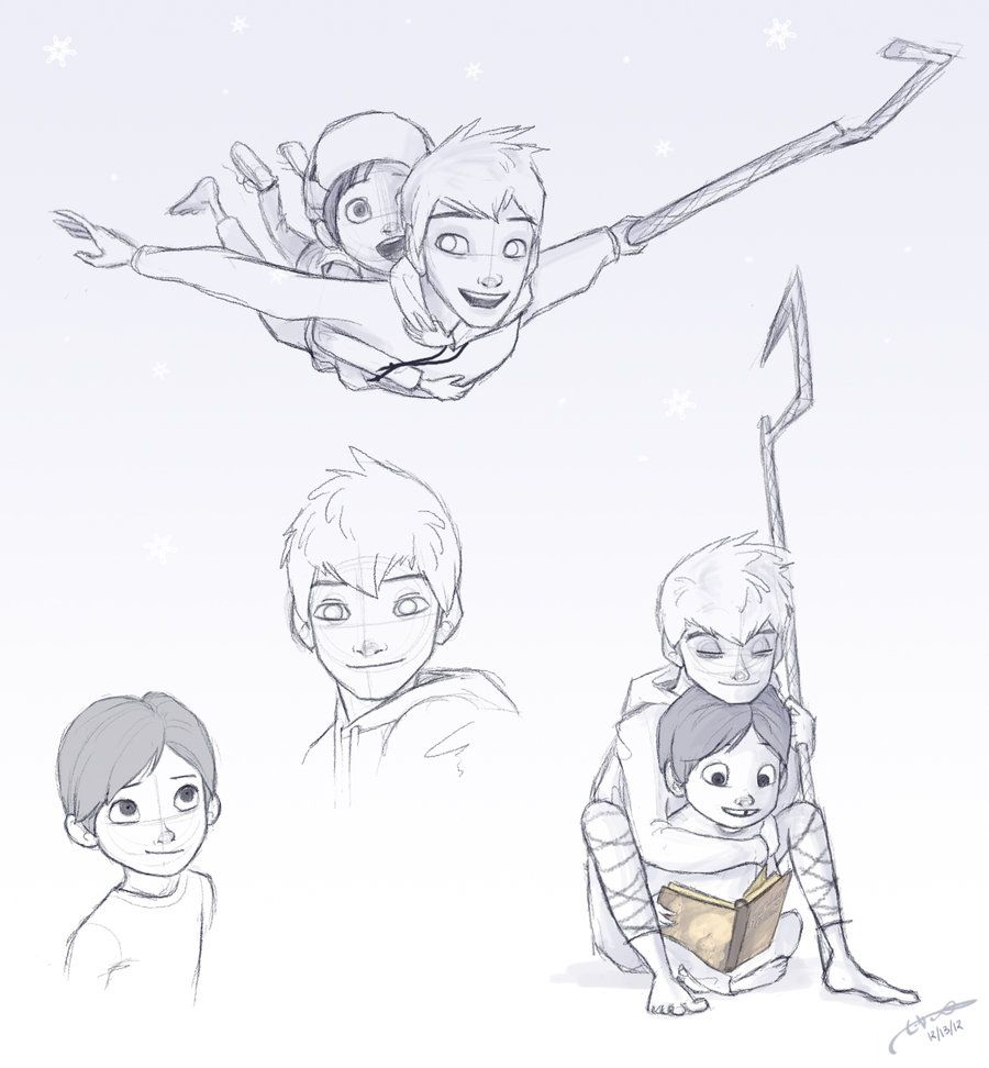 Jack Frost and Jamie brothers