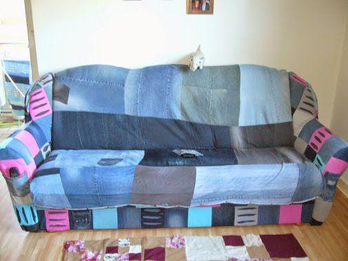 Gestern ist mein ganz spezielles Sofa fertig geworden. Ich bin echt stolz…