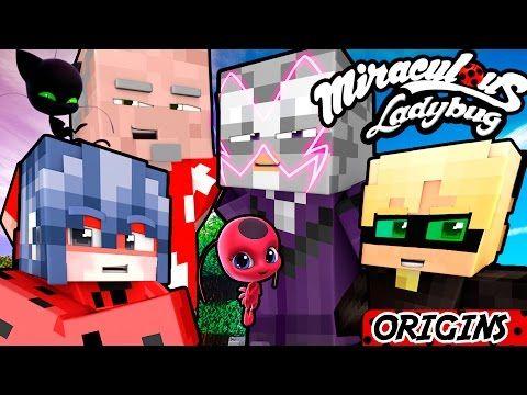 Minecraft Ladybug And Cat Noir Origins Marinette And Adrien Meet