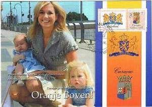Kaart Royalty 2006 - Ned. Antillen - Prinses Maxima en 2 dochters (k066) | eBay