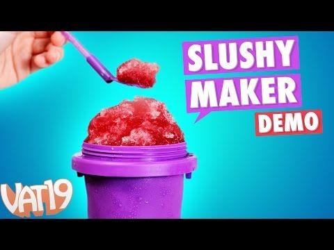 Slushy Maker Create Your Own Slushy In Less Than A Minute Slushy Maker Slushies Cotton Candy Machine
