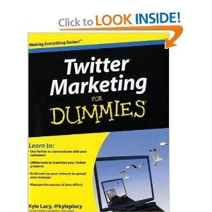Twitter Marketing For Dummies - The field of social media marketing is exciting, cutting-edge, and...open to almost anything! Twitter's style of quick remarks lends itself to a carefree, conversational tone, ripe for passing along a plug, sharing a suggestion, or referencing a recommendation. This fun and friendly book is an excellent first step for gaining insight on how to effectively use one of the most popular social media tools to expand the success of a business. Disclosure: Affiliate…