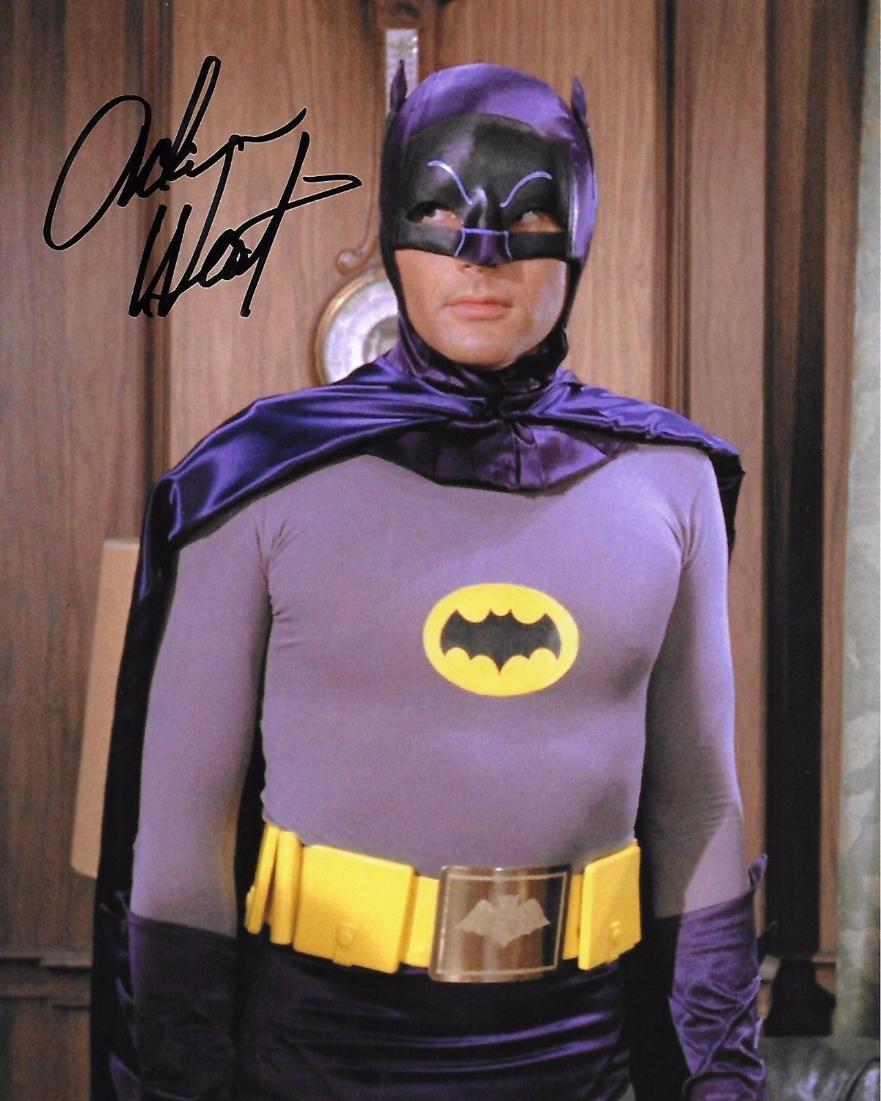 Without Return Adam West Signed In Person At Our Hollywoodshow April 28th 2017 8x10 Batman!! Movies
