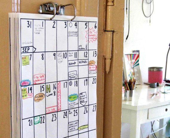 kalenteri seinään