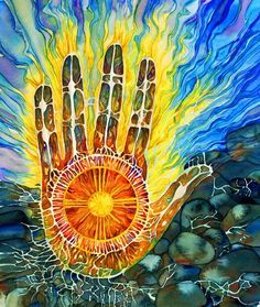 Reiki practitioners can generate considerable heat from their hands when they are healing. See more at http://www.heartreiki.com