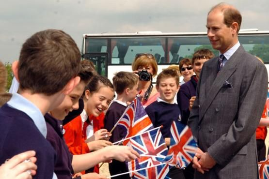 A Royal Visit to the Heage Windmill Site in Heage Derbyshire, a Great Place to go and enjoy with the family to view the rebuilt Fully Working Windmill.