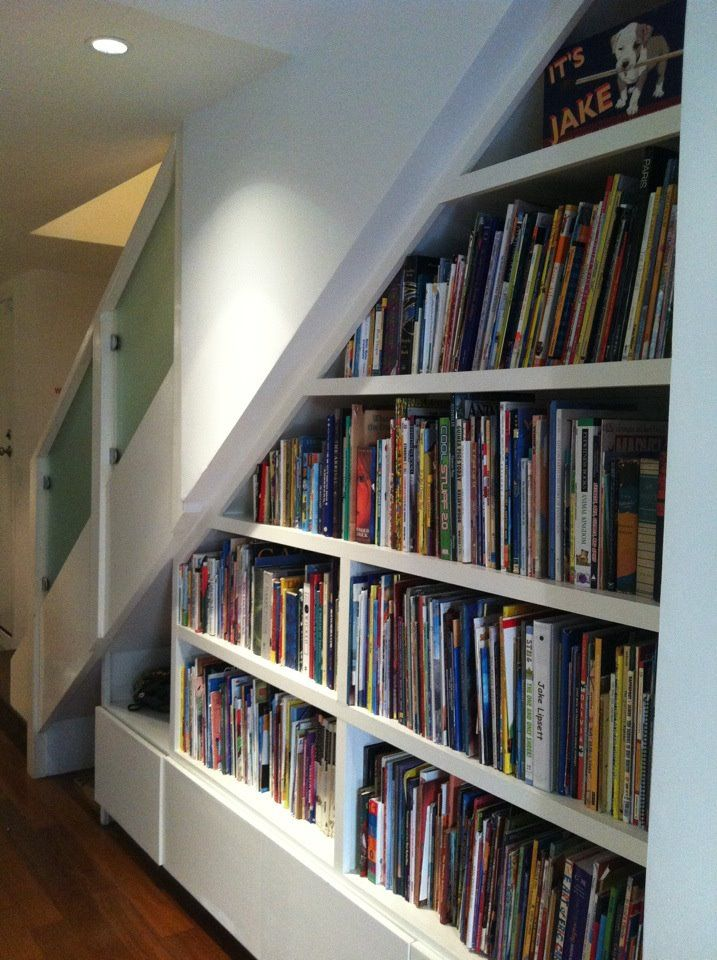 bookshelves with picture books