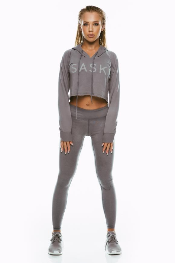 ae3131fe0d271 charcoal hoodie Womens Workout Outfits, Sport Outfits, Gym Outfits, Fitness  Outfits, Fitness