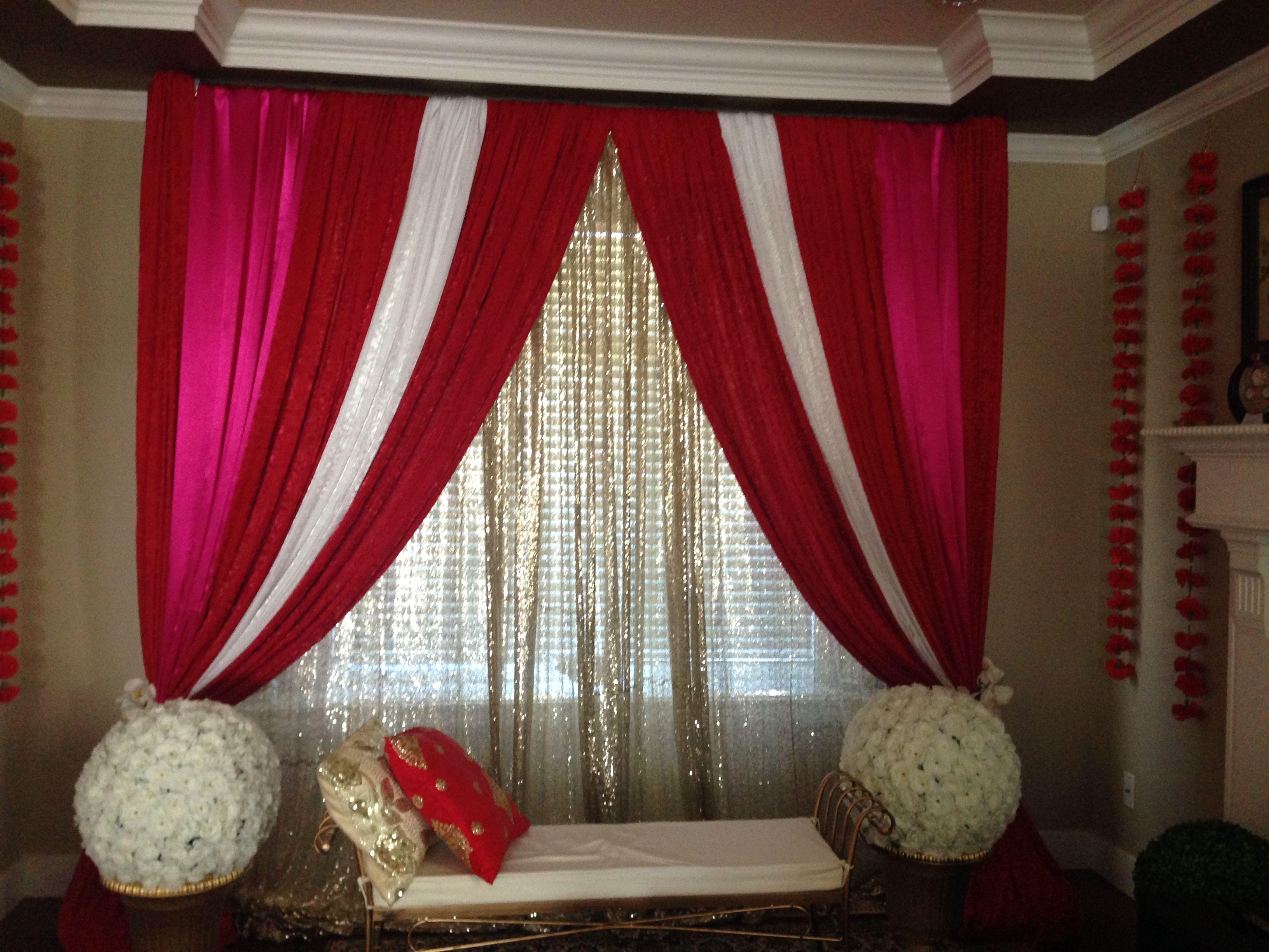 Wedding house decoration ideas  Pin by Raz Mal on Indian wedding house decor  Pinterest  Weddings