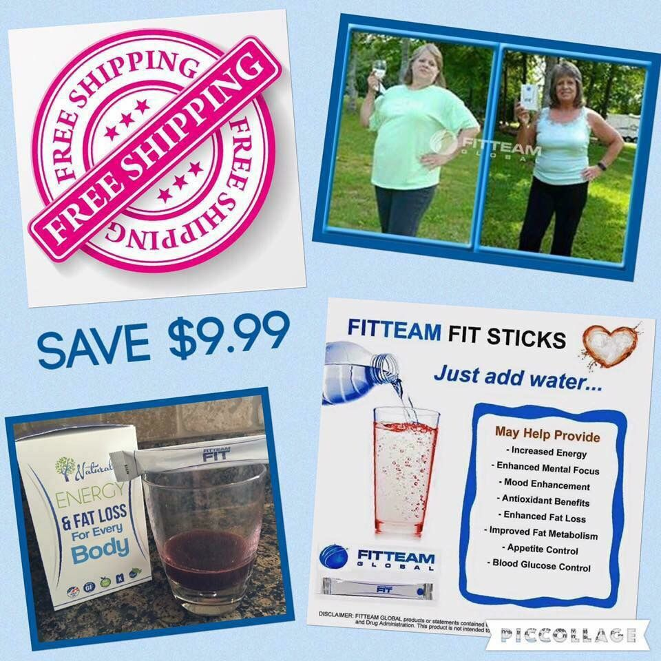 What are you waiting for??? Take advantage of FREE SHIPPING! #fitteam #results #letsgo