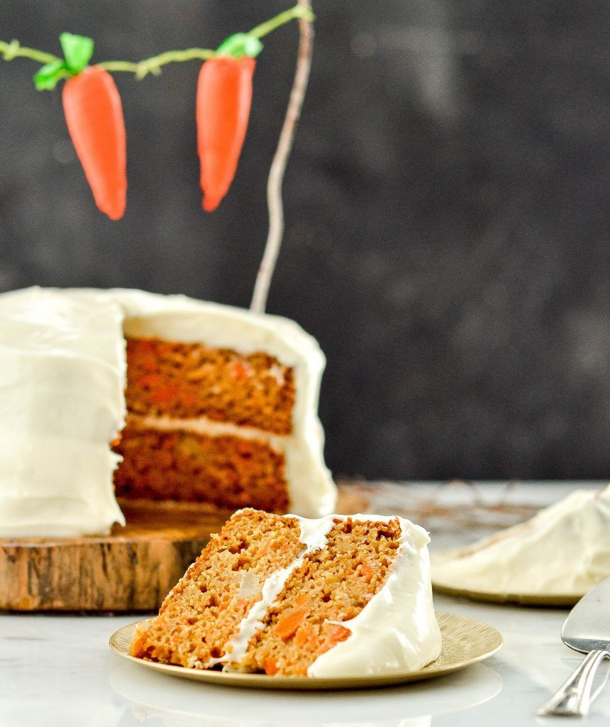 This Healthy Carrot Pineapple Cake is a lightenedup