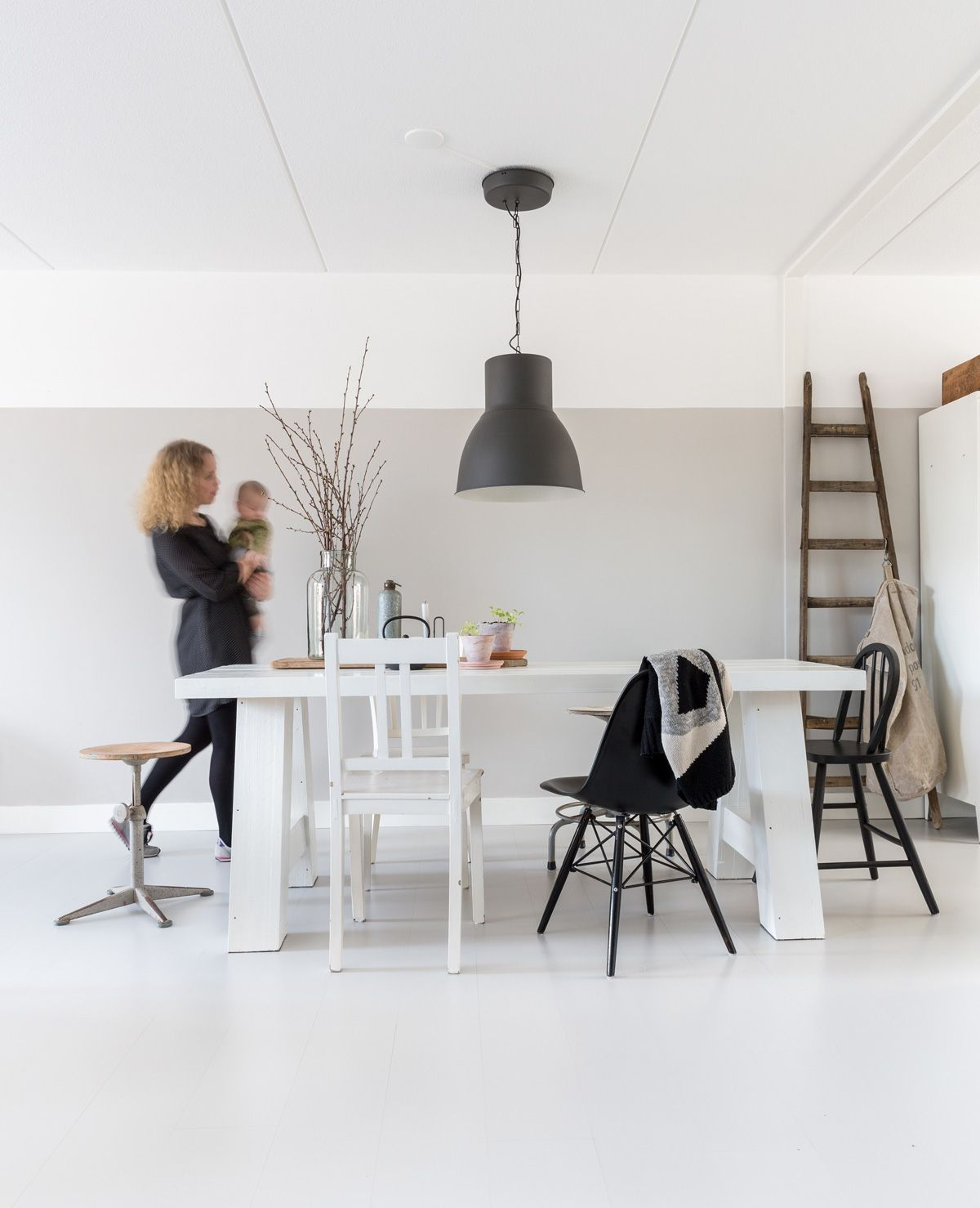 Susan 32 Visual Merchandiser Stylist En Blogger Woont Met Gorgeous Dining Room Manager Inspiration Design
