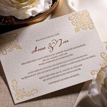 Schön Letterpress Hochzeitseinladung U201cChateauu201c   Weddix