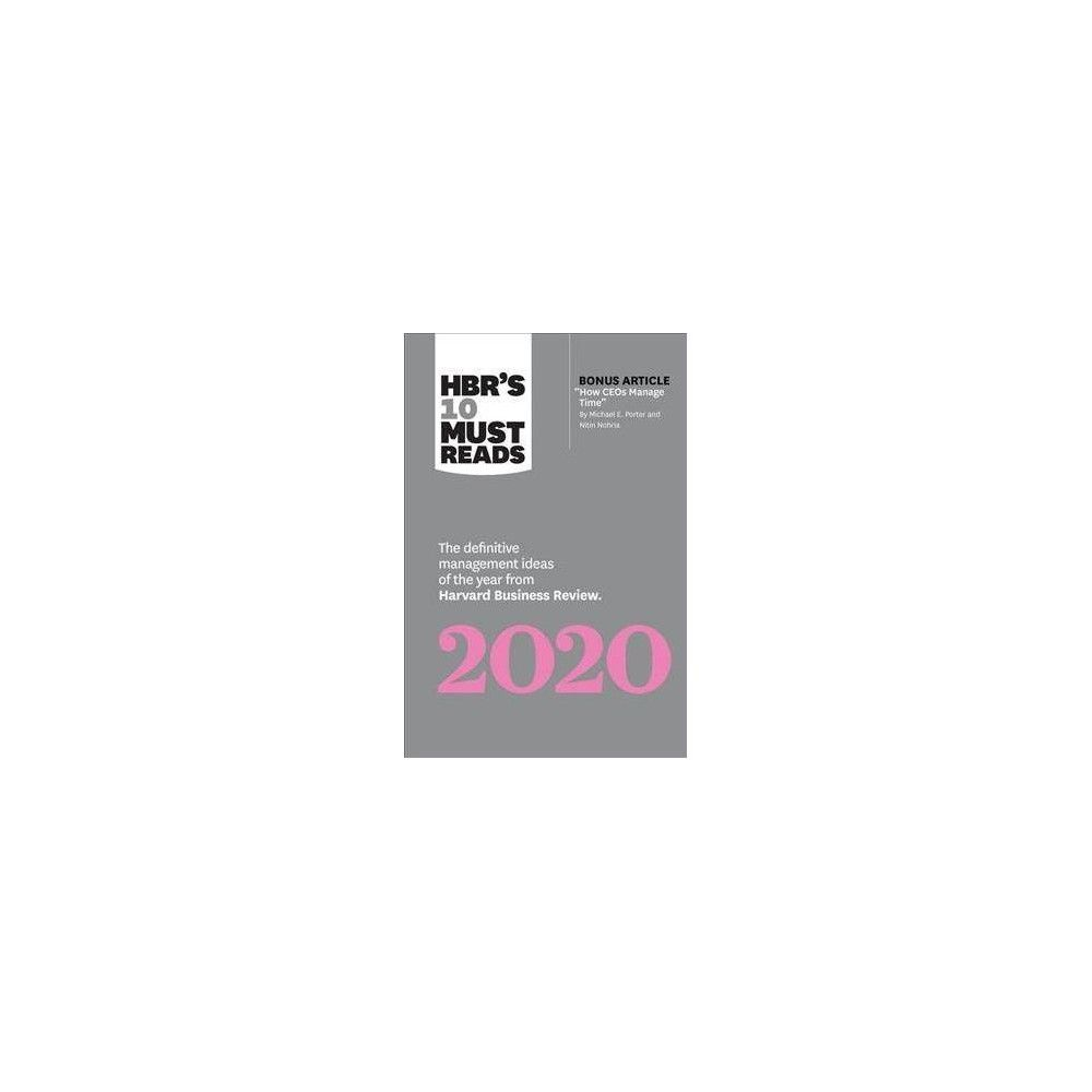 Business Leadership Articles 2020.Hbr S 10 Must Reads 2020 By Harvard Business Review