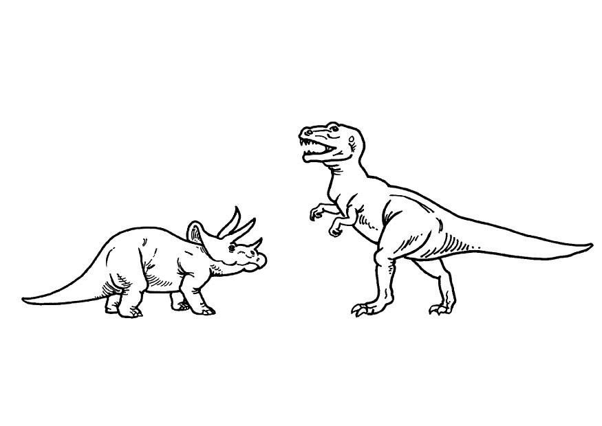 t rex ausmalbild 09  ausmalbilder  pinterest