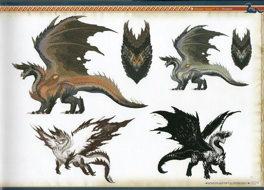 Alatreon Monster Hunter Art Monster Hunter Series Monster Hunter