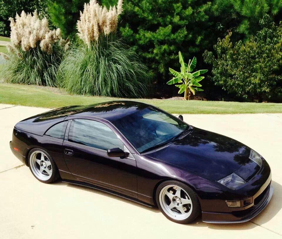 300zx Turbo Sound: 1996 Nissan 300zx Midnight Purple Metallic Slicktop Rarest Z32