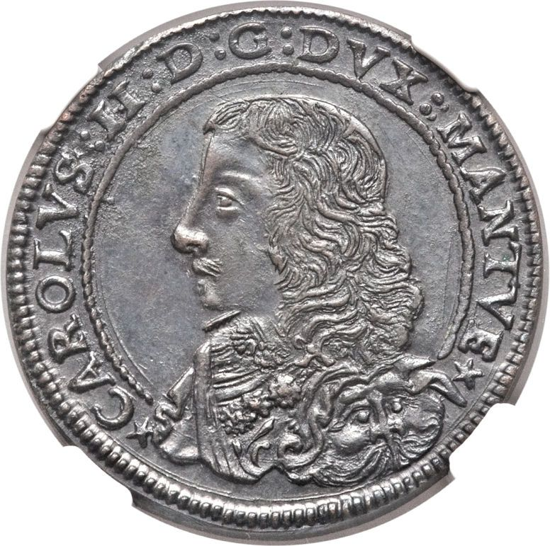 Carlo II Gonzaga. (164765) in 2019 World coins, Coins