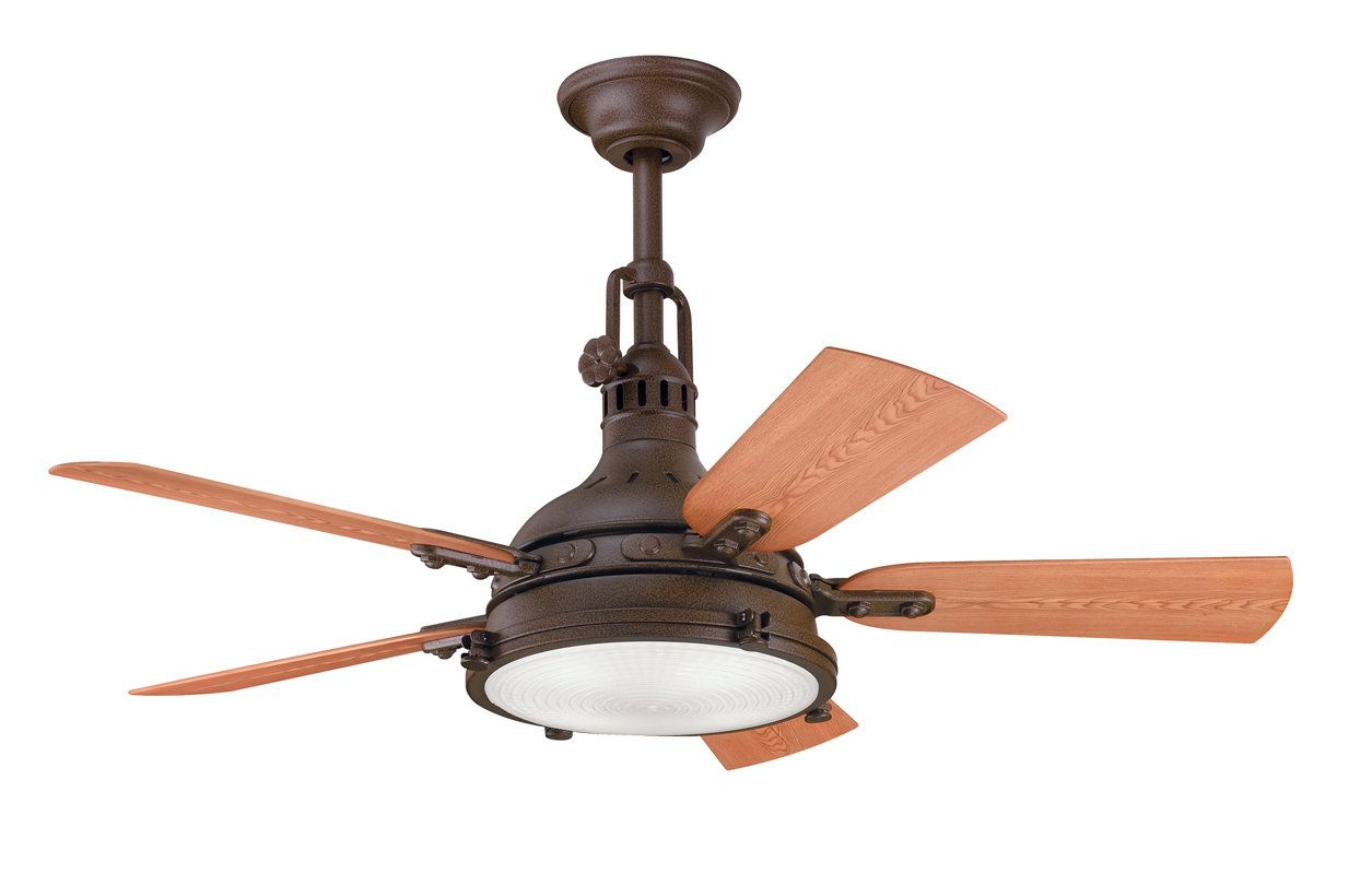 Kichler Hatteras Bay Patio Ceiling Fan Outdoor Ceiling Fans
