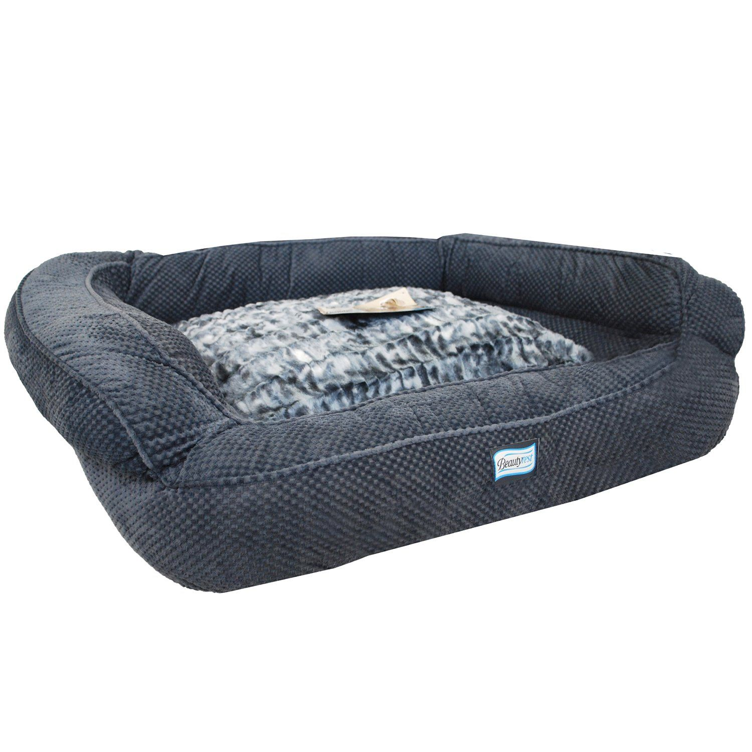 Simmons Beautyrest Colossal Rest Premium Dog Bed For