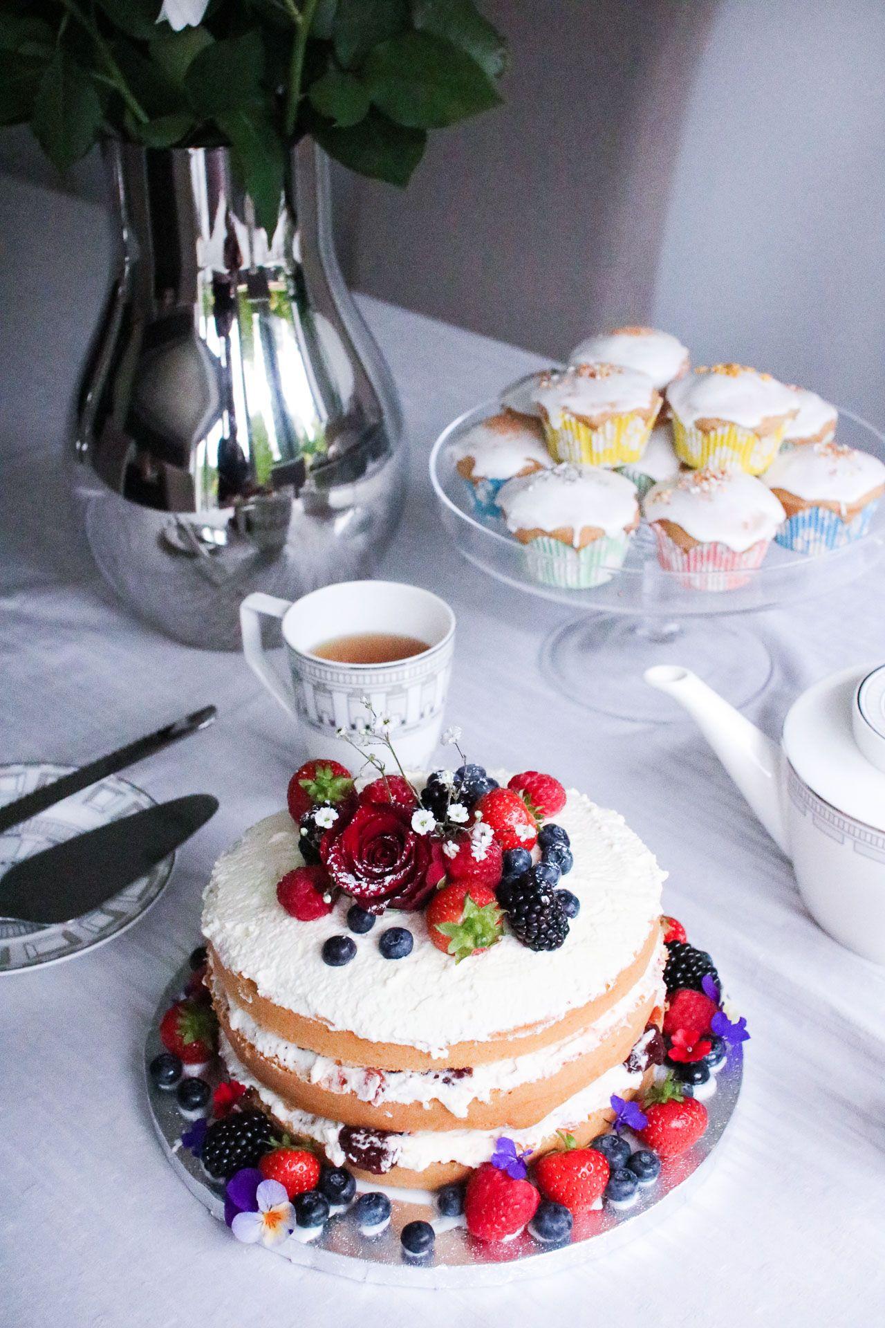 Rustic Victoria Sponge Cake Recipe Perfect As A Birthday Cake