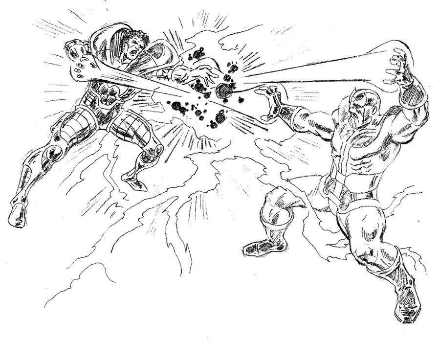 Thanos Dibujos Arte De Comics Y Dibujos Para Colorear