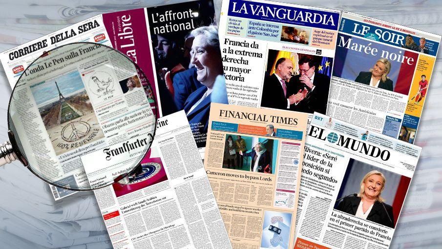 La presse française est sonnée ce matin. Un état que