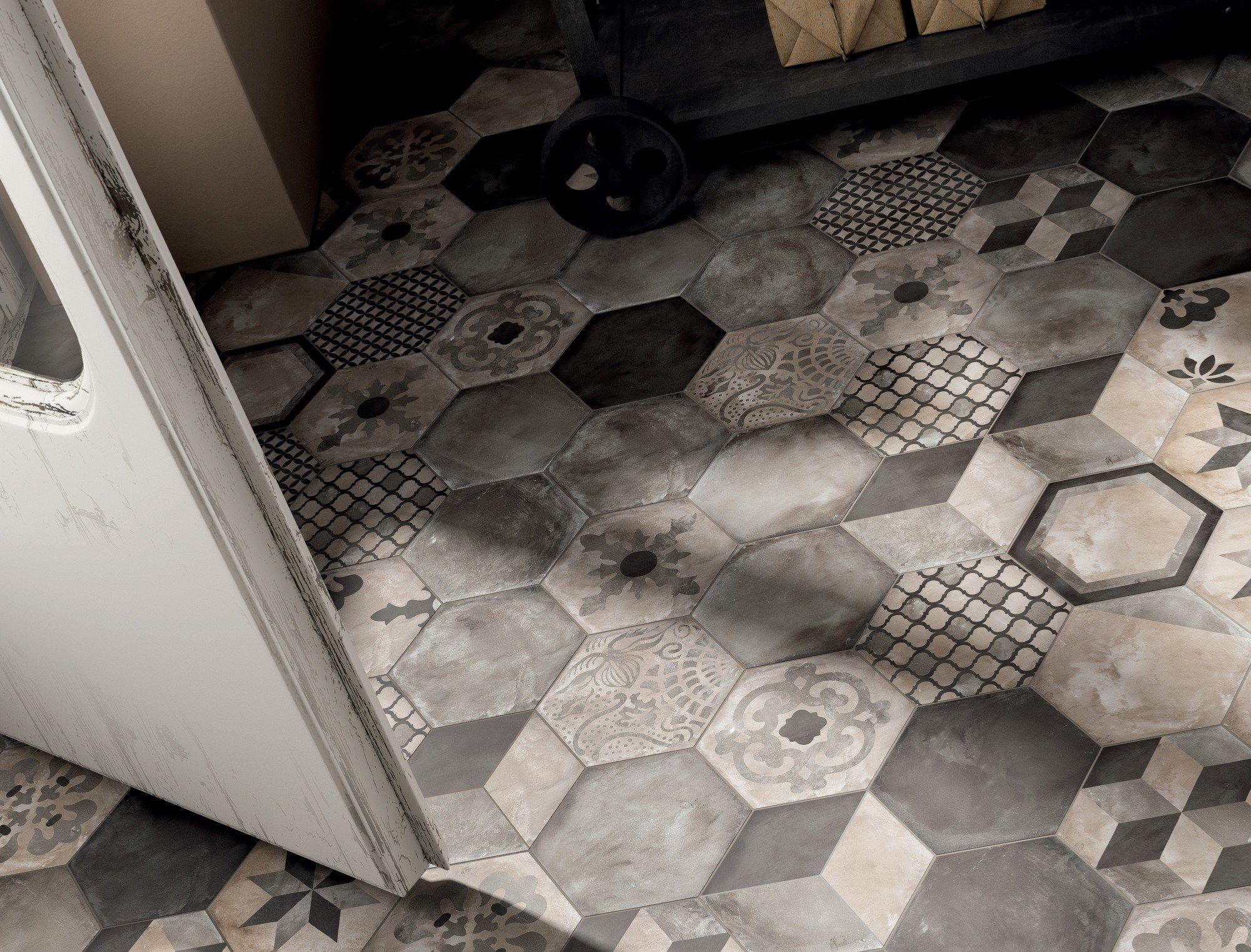 Full-body porcelain stoneware wall/floor tiles TERRA by Ceramiche ...