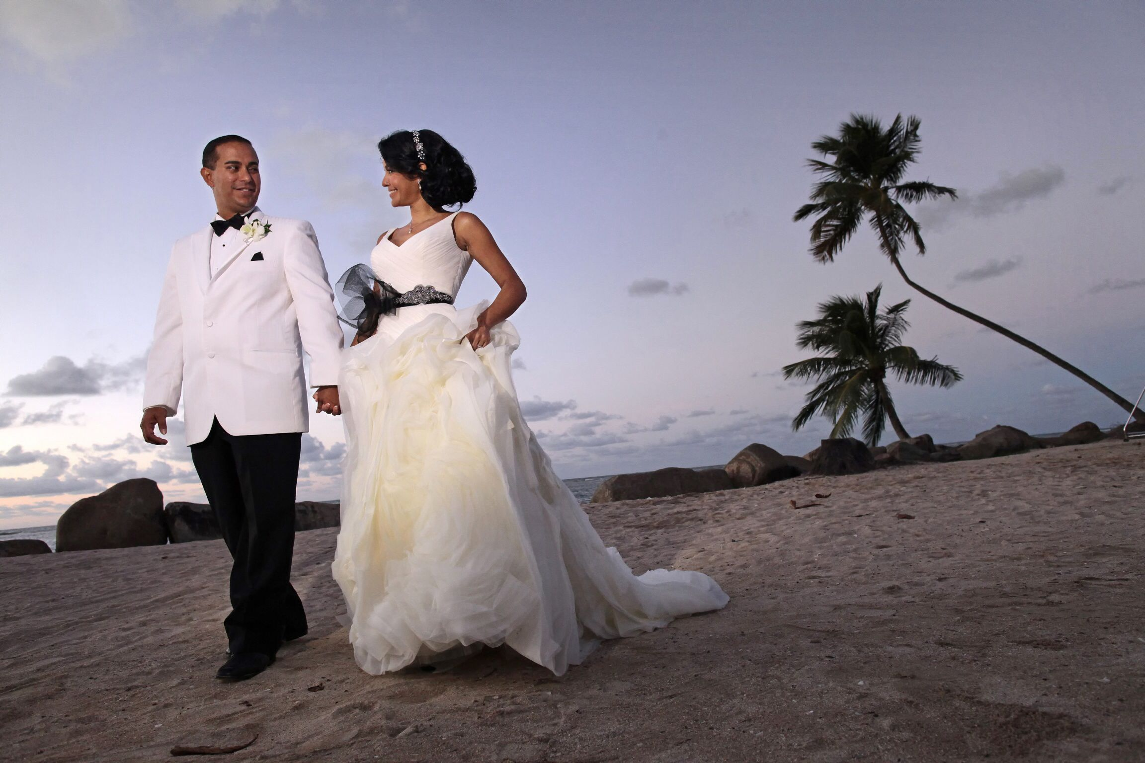 Caribbean wedding dress  Raymond Vega Photography raymondvegaphotography Wedding