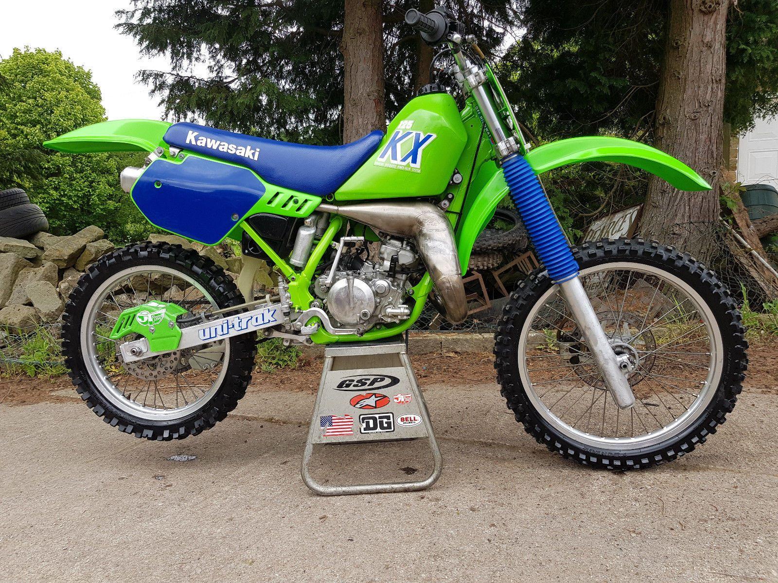 eBay: 1989 American Spec Kawasaki KX125 IMPORTED from California Evo super  evo LOOK !