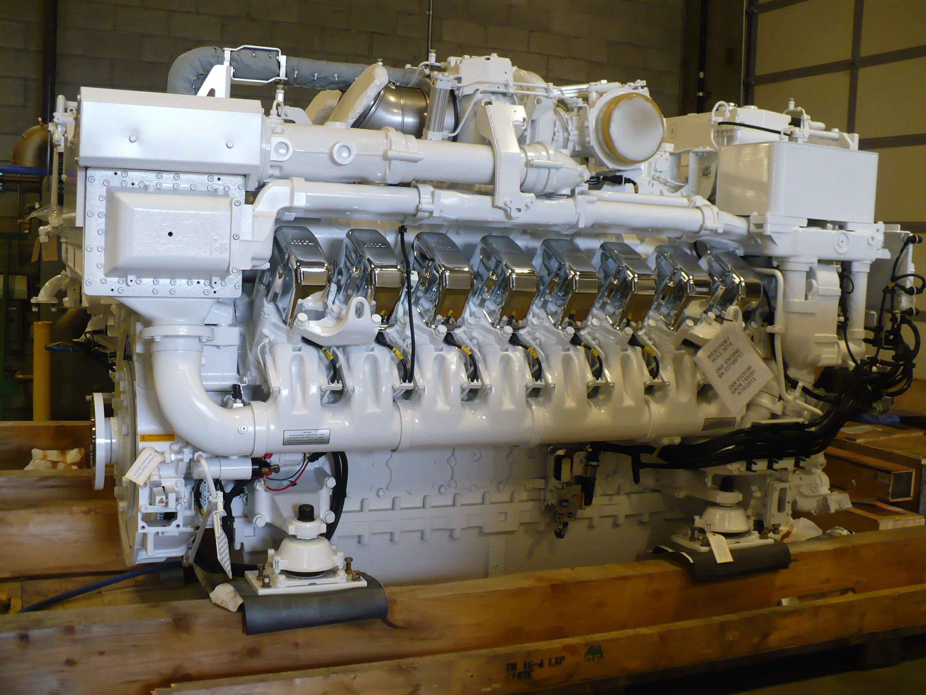 16v4000 mtu dieselengine