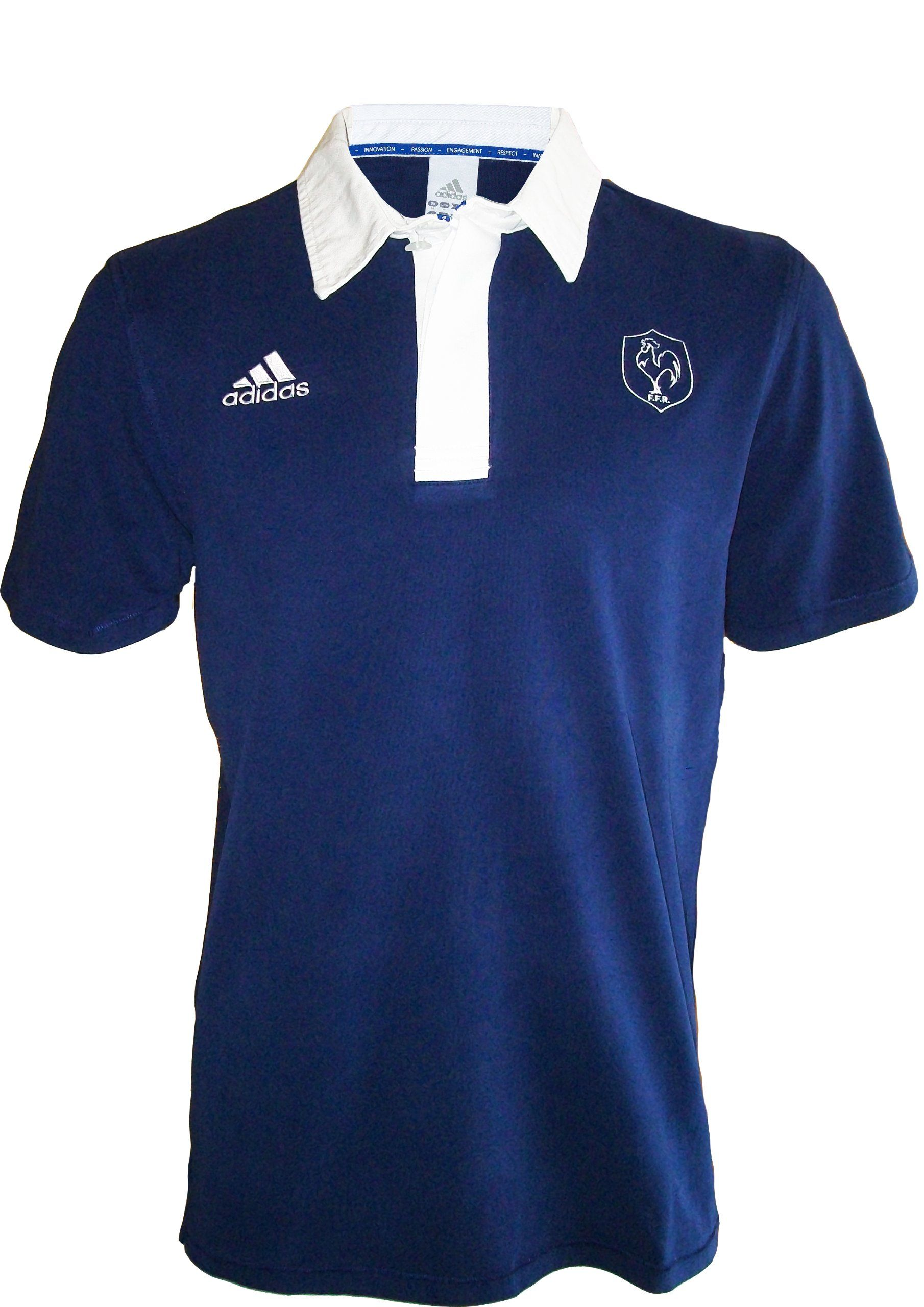 Collection Officielle Polo Equipe Adidas Rugby Xv De France OPZikuX