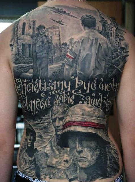 Patriotyczne Tatuaże Szukaj W Google Tatuaże Tatuaż