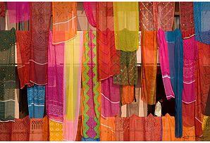 Jonathan Kingston, Saris, India