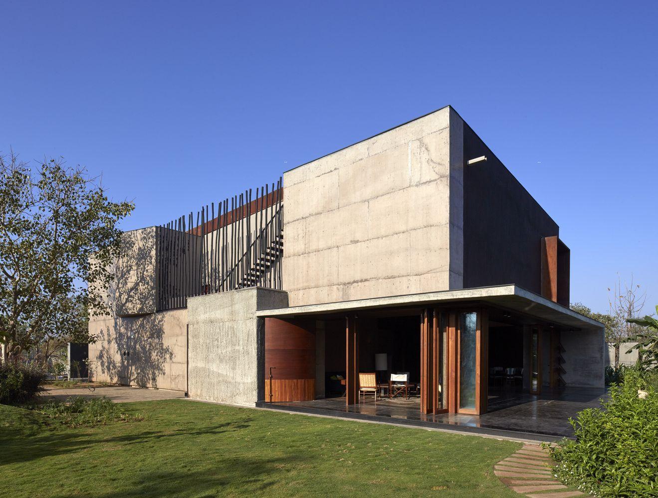 Gallery of The Shadow House / Samira Rathod Design Associates - 1 ...