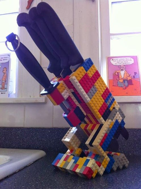 LEGO knife stand #lego #kitchen #home