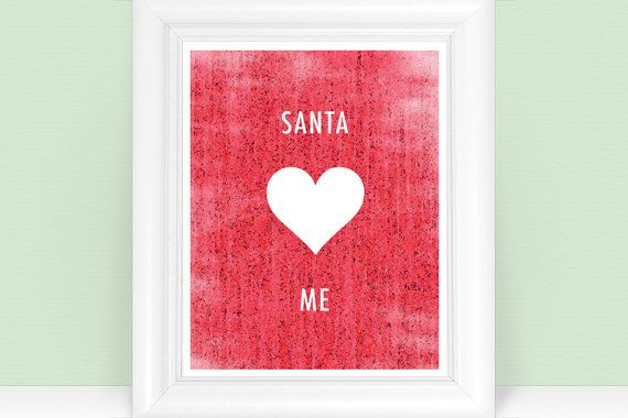 Santa <3 Me