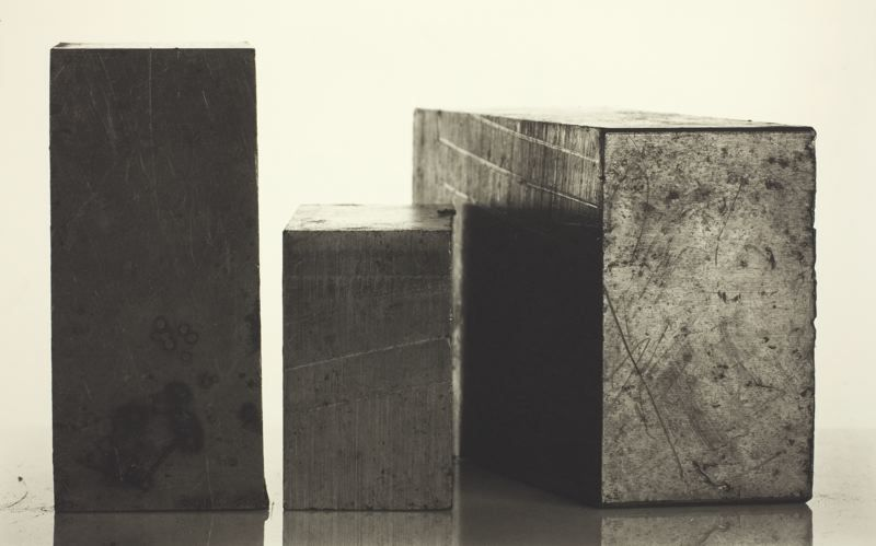 Irving Penn - 3 Steel Blocks, New York