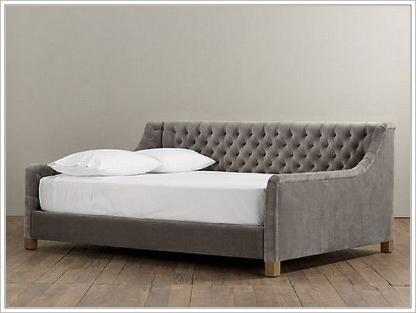 queen size daybed frame day beds pinterest queen size daybed frame queen size and daybed. Black Bedroom Furniture Sets. Home Design Ideas