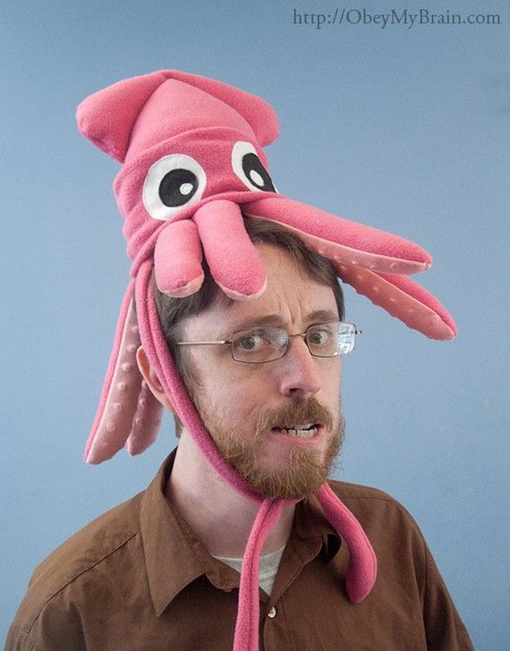 squid hat!