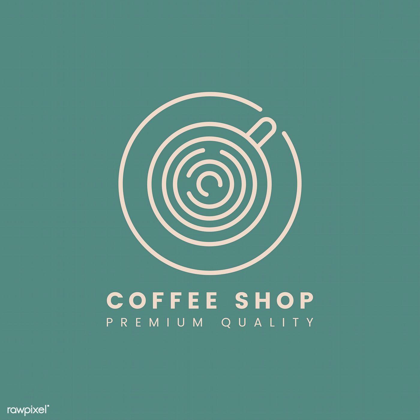 Premium Quality Coffee Shop Logo Vector Free Image By Rawpixel Com Aew Coffee Shop Logo Cafe Logo Design Coffee Shop Logo Design