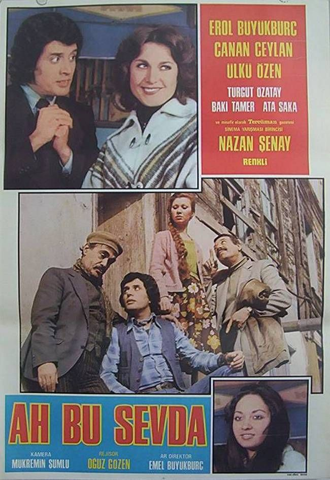 Ah Bu Sevda 1977 Eski Film Afisleri Film Afisleri Film