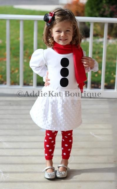 AddieKat Boutique Snowman Outfit..... My Lil' Girl needs this! - AddieKat Boutique Snowman Outfit..... My Lil' Girl Needs This