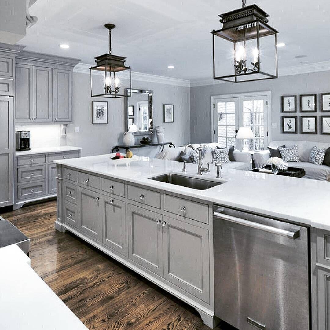305 Likes 14 Comments Ken Parkin Design Kenparkindesign On Instagram I M A Kitchen Cabinets Painted Grey Grey Kitchen Cabinets Farmhouse Kitchen Design