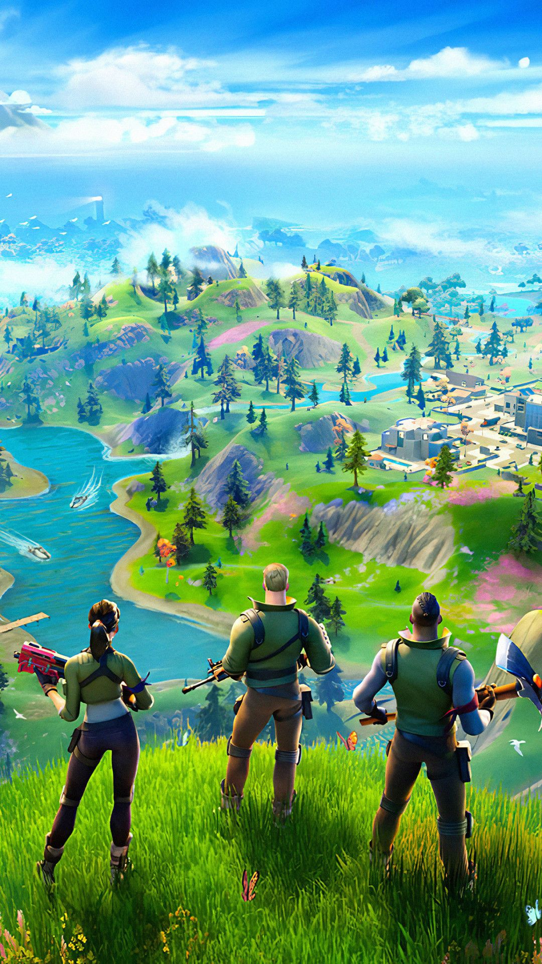 Fortnite Chapter 2 2019 Mobile Wallpaper Iphone Android Samsung