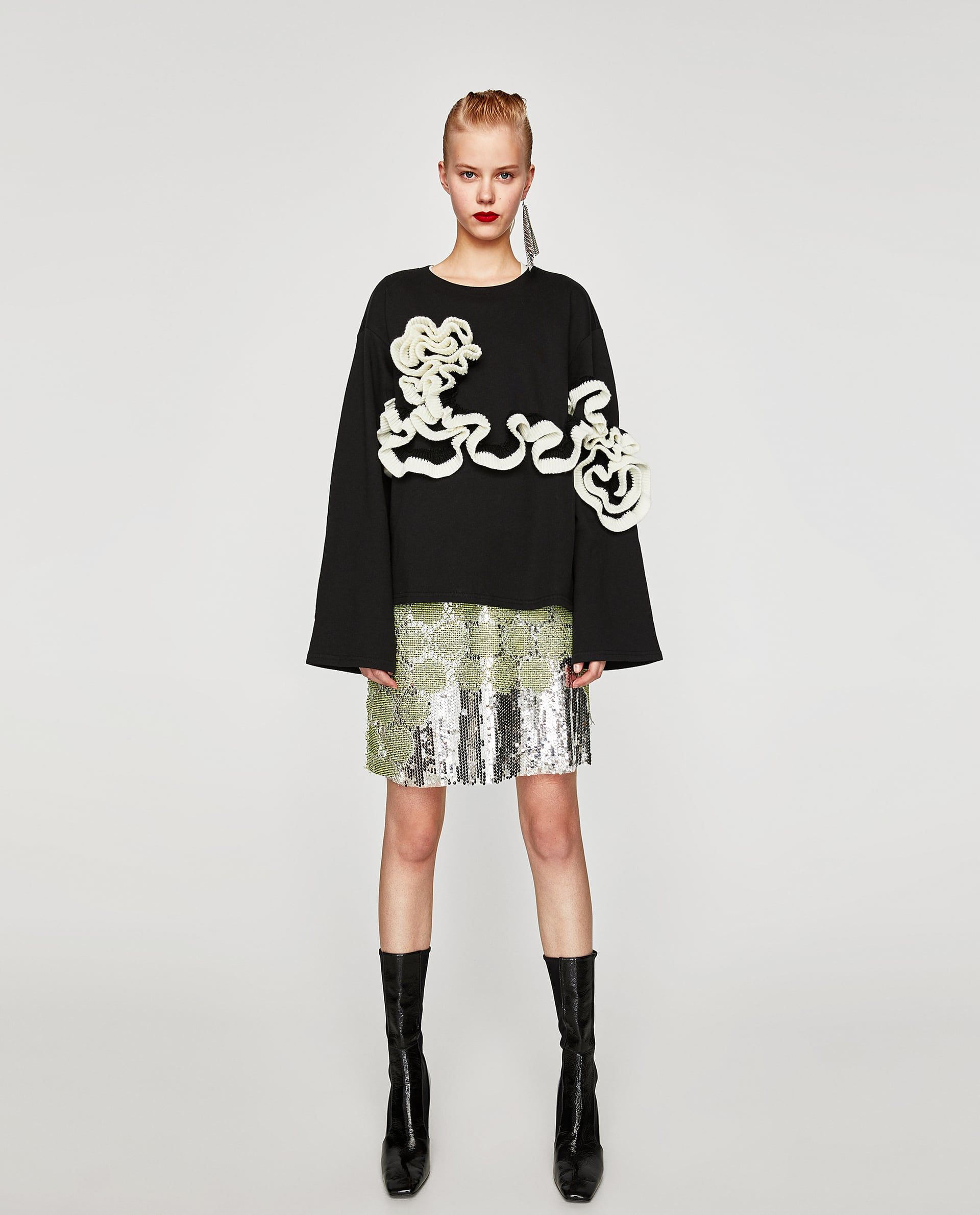 SUDADERA BANDERA   AW 2017 Wishlist   Zara, Aw 2017, Clothes