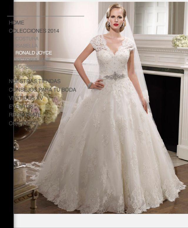 Nuevo vestido publicado! RONALD JOYCE-BRUNILDE ¡por sólo $17500 ...