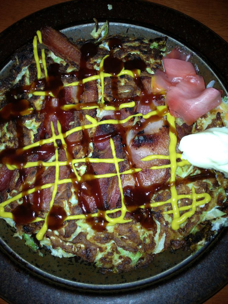 Paleo Okonomiyaki - Japanese Pizza for Dinner!
