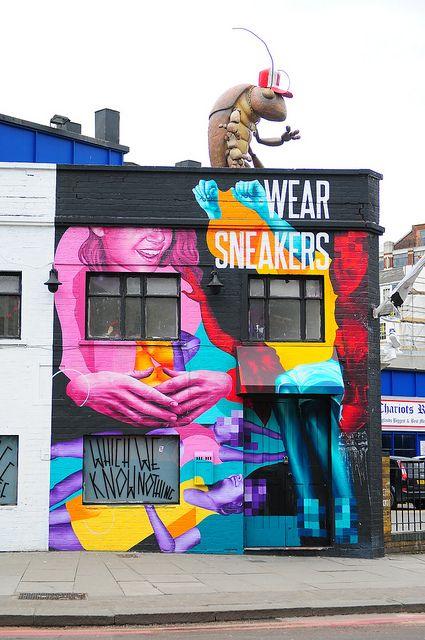 Street Art London     http://www.graphicdesignnyc.net