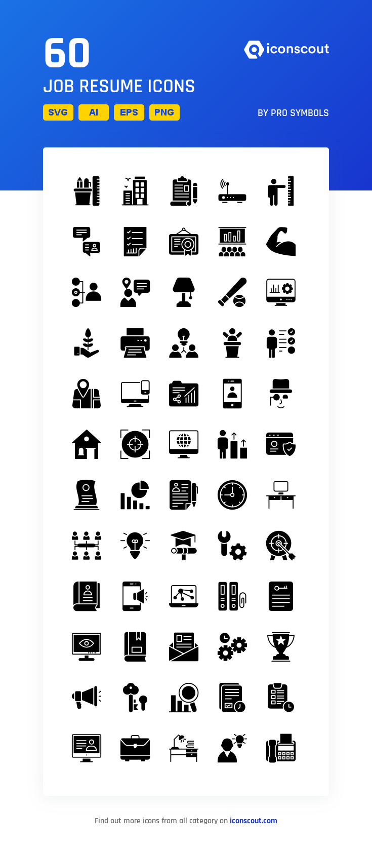 Download Job Resume Icon Pack Available In Svg Png Eps Ai Icon Fonts Resume Icons Job Resume Resume